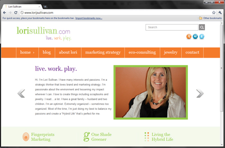 New Site Launch – Lori J Sullivan