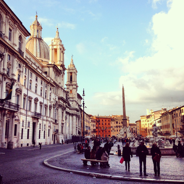 Piazza Navona End