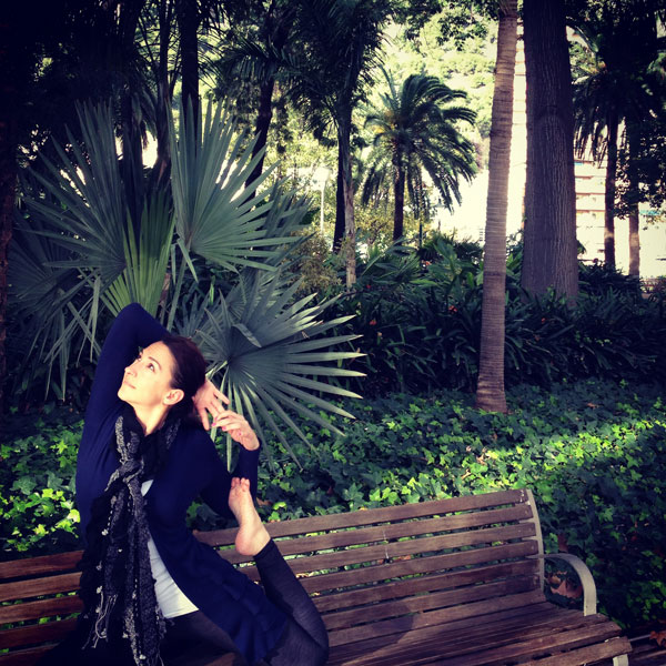 Palm Trees and an Open Heart <br />in Paseo del Parque