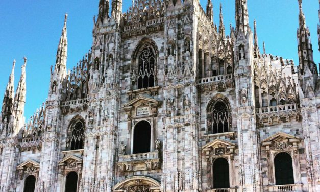 Easy Peasy Lemon Squeezy: Only 261 Steps to The Top of Milan's Duomo